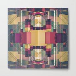 palette block Metal Print