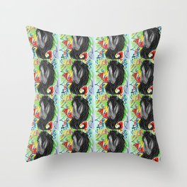 Fancy Pony - Pattern Throw Pillow