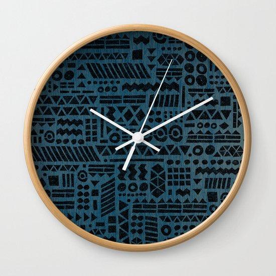 Northwoods Twilight. Wall Clock