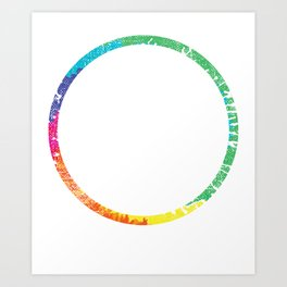 6 Year Clean and Sober Addiction product Art Print