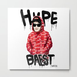 hyp Metal Print