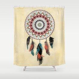 Mandala Dream Catcher Shower Curtain