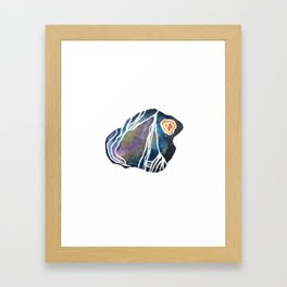 Schist - Pebble 2 Framed Art Print