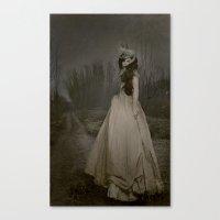 carmilla Canvas Prints featuring carmilla by nena suicide