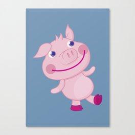 Pigg'o Canvas Print