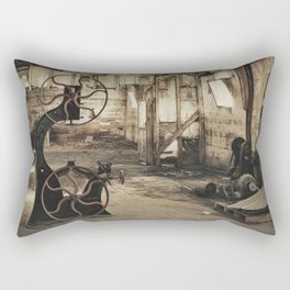 Vintage Bansaw Rectangular Pillow