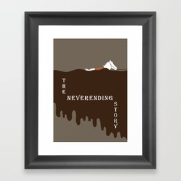The Neverending Story  Framed Art Print