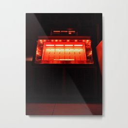 Jukebox waiting Metal Print