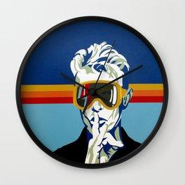 Bowie Apres' Ski Wall Clock