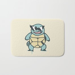 Ash's Squirtle (Squirtle Squad Leader) Bath Mat