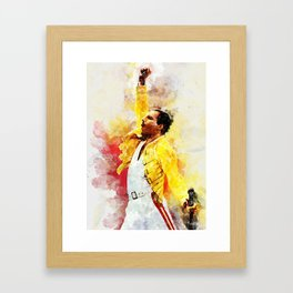 Freddie Art Framed Art Print