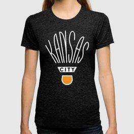Kansas City Shuttlecock Type - White T-shirt