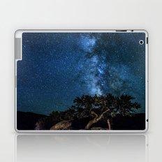 Deep Blue Milky Way Landscape Laptop & iPad Skin