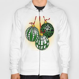Happy Holiday Christms Ornaments Hoody