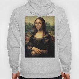 Nicholas Cage Mona Lisa face swap Hoody