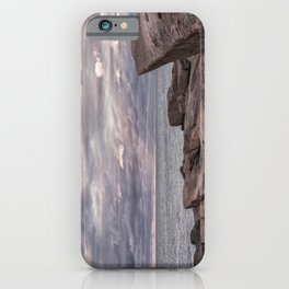 Around Sunset at Halibut Point iPhone Case