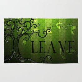 LEAVE - Summer Green Rug