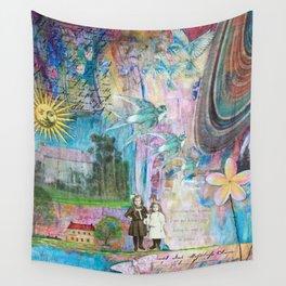 Transcending Time Wall Tapestry