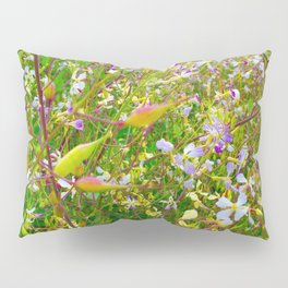 Vibrant Yellow-Green Meadow Pillow Sham