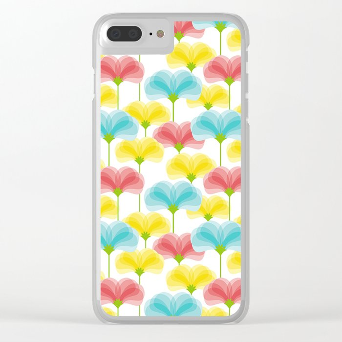 Valley of Flowers Clear iPhone Case