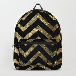 Brass Chevrons Backpack