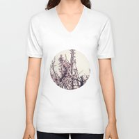 blossom V-neck T-shirts featuring blossom by techjulie