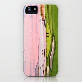 Pebble Beach Golf Course 8th Hole iPhone Case