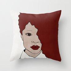 Female One Throw Pillow