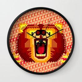 Geometric Bear 2012 Wall Clock