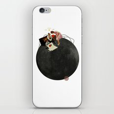 Life on Earth  | Collage | White iPhone & iPod Skin