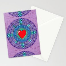 Heartbeat version Stationery Cards