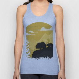 Bear Valley Unisex Tank Top