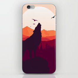 Bark At The Moon iPhone Skin