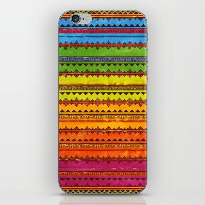 Hippie Style Pattern iPhone Skin