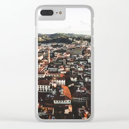 Florence From Above Clear iPhone Case