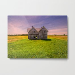 Hayden Homestead Metal Print
