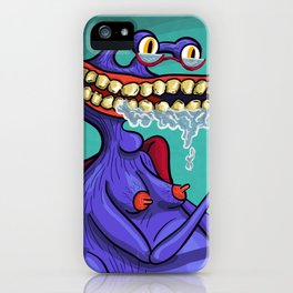 Monster Reading iPhone Case