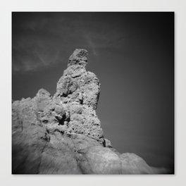 Dark Volcano Canvas Print