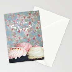 Eat the Cupcakes! Stationery Cards