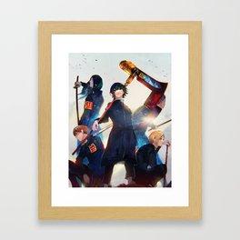 Suzuya Juuzou Team Framed Art Print