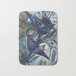 Birds in the Orchard Bath Mat