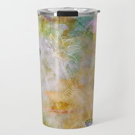 Vibrant Spring Garden Travel Mug