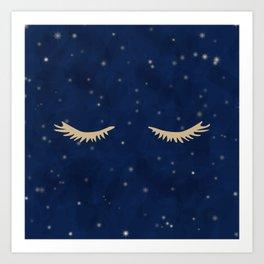 Dreaming in the Stars Art Print