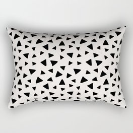 Geometric Dot Rectangular Pillow