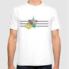we're the extraterrestrial life going to destroy everything Mens Fitted Tee MEDIUM White