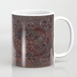 Ancient Leather Book Coffee Mug