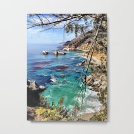 Big Sur Beauty Metal Print
