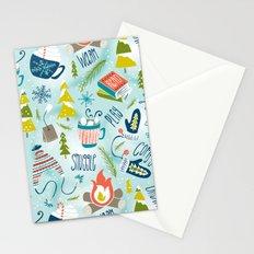 Snow Day Hooray! Stationery Cards