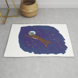 Take me to Otter Space Rug