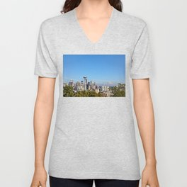 On a Clear Day Unisex V-Neck